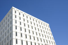 White Cube Building Royalty Free Stock Photo