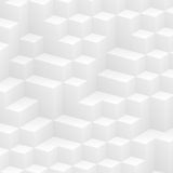 White cubes stock illustration