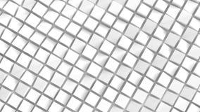 White cubes background royalty free stock image