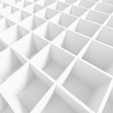 White Cubes Background. 3d Rendering of White Cubes Background. Abstract Futuristic Design stock illustration
