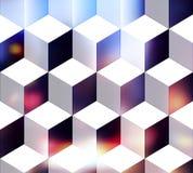 White cubes Stock Photo