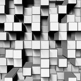White cubes Royalty Free Stock Photo