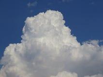 White cumulonimbus cloda Royalty Free Stock Photo
