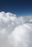 White Cumulus. From the sky Royalty Free Stock Photos