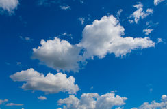 White cumulus Stock Photo