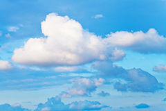 White cumulus cloud Stock Photos