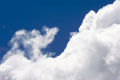 White Cumulus Clouds Royalty Free Stock Photo