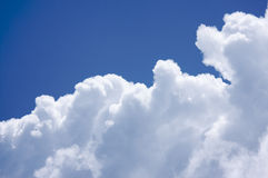 White Cumulus Clouds Royalty Free Stock Image
