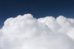 white cumulusu Obrazy Royalty Free
