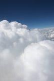 white cumulusu Zdjęcia Royalty Free