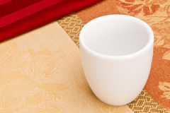 White Cup Stock Image