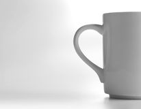 White cup Royalty Free Stock Image