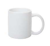 White cup. Stock Image