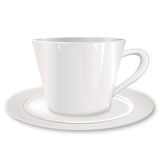White cup Royalty Free Stock Photo