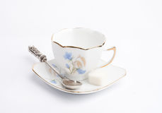 White cup for coffee Royalty Free Stock Image