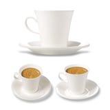 Cofee caps Stock Photo