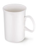 White cup. Royalty Free Stock Photography
