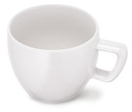 White cup. Royalty Free Stock Photos