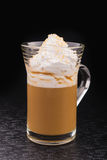 White cup of espresso coffee Royalty Free Stock Photo
