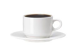 Free White Cup Of Coffee Isolated On White Stock Photo - 37964590