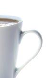 White cup of tea Stock Photo