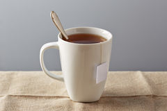 White cup of tea Royalty Free Stock Images