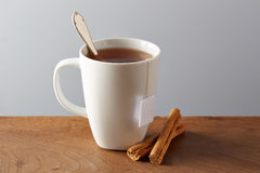 White cup of tea Royalty Free Stock Photos