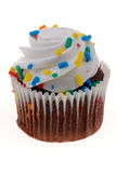 White Cupcake Royalty Free Stock Photo