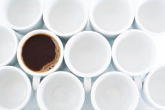 White cups Stock Photo