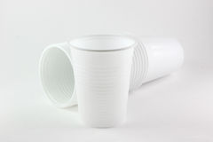 White cups Royalty Free Stock Photos