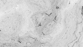 White curly marble. White marble pattern with curly grey and black veins. Abstract texture and background. 2D illustration Stock Image