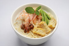 White curry noodle Royalty Free Stock Photo
