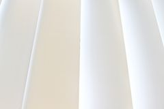 White curtain. Background and texture of white curtain Stock Photos