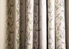 White curtain Stock Images