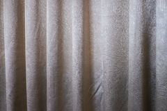 The white curtain Stock Images