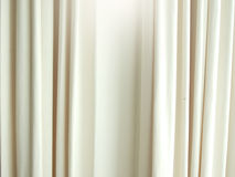 White curtain Royalty Free Stock Photo