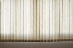 White Curtain and Window Stock Image