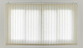 White Curtain and Window Royalty Free Stock Photography