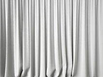 White curtains background Royalty Free Stock Images