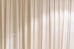 White curtains background royalty free stock image