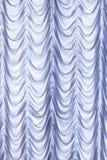 White curtains background Stock Photo
