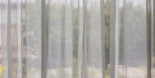 White curtains Stock Photos