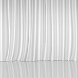 White Curtains Royalty Free Stock Photography