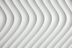White curve texture with shade and shadow Stock Photo