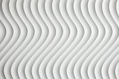 White curve texture with shade and shadow Stock Photography