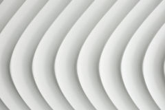 White curve texture with shade and shadow Stock Image
