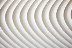 White curve texture with shade and shadow Royalty Free Stock Image