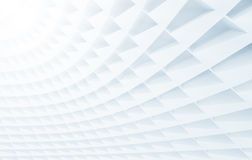 White Curve Wall royalty free illustration