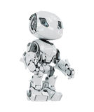 White cyborg Stock Images