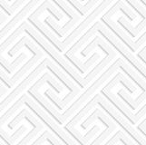White 3D fastened spirals Royalty Free Stock Image